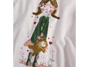 Dívčí triko MINOTI PRETTY