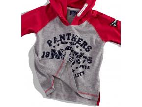 Chlapecké triko s kapucí MINOTI červené