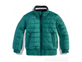 Dětská zimní bunda DIRKJE GREEN zelená