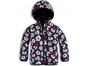 Dívčí šusťáková bunda KVĚTY LOSAN