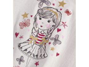 Dívčí triko s dlouhým rukávem MINOTI BERRY