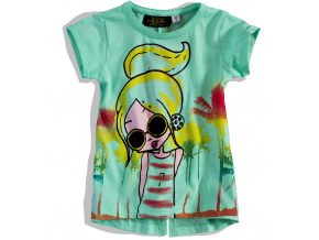 Dívčí tričko HOLČIČKA KNOT SO BAD