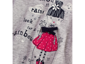 Dívčí triko MINOTI LITTLE