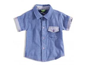 Kojenecká chlapecká košile PEBBLESTONE