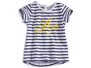 5f1a39331b4 Dívčí šaty bez rukávů MINOTI BLOOM žluté