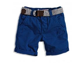 Chlapecké chino šortky s páskem CRAFTED MINOTI