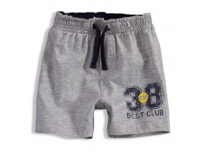 Bavlněné šortky pro kluky BEST CLUB KNOT SO BAD