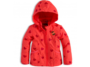 Dívčí podzimní bunda DIRKJE SRDÍČKA