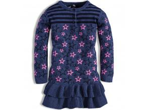 Dívčí pletené šaty DIRKJE SHINE BRIGHT