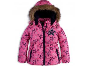 Dívčí zimní bunda DIRKJE SHINE BRIGHT
