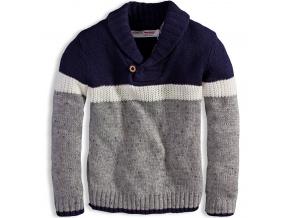 Chlapecký svetr MINOTI CAMDEN modrý