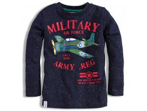 Kojenecké chlapecké triko MINOTI LETADLO modré