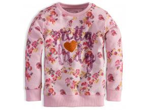 Dívčí mikina MINOTI PRETTY růžová