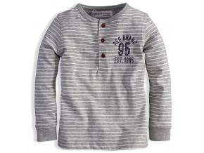Chlapecké triko MINOTI ARCTIC šedé