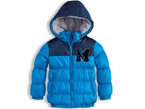 Chlapecká zimní bunda MINOTI ARCTIC tyrkysová