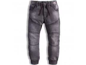Dětské džíny MINOTI MONO elastické šedé