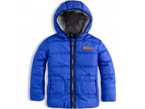 Chlapecká zimní bunda DIRKJE NO RULES modrá