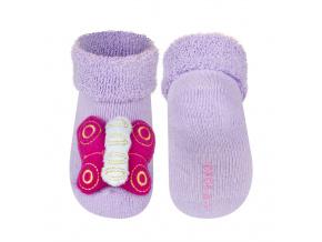 Ponožky s chrastítkem SOXO MOTÝLEK