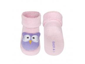 Ponožky s chrastítkem SOXO SOVIČKA