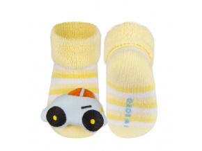 Ponožky s chrastítkem SOXO AUTÍČKO