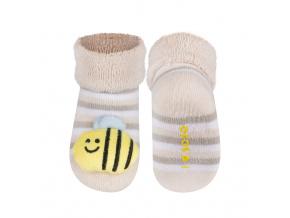 Ponožky s chrastítkem SOXO VČELKA