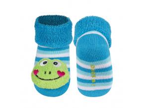 Ponožky s chrastítkem SOXO ŽABIČKA