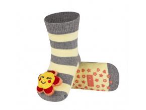 Ponožky s chrastítkem SOXO KYTIČKA