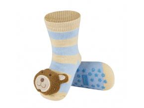 Ponožky s chrastítkem SOXO MEDVĚD