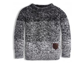 Chlapecký svetr KNOT SO BAD šedý