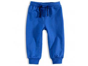 Kojenecké chlapecké tepláky KNOT SO BAD modré