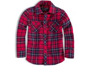 Chlapecká košile SOUL&GLORY červená