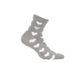 Dívčí ponožky  SRDÍČKA