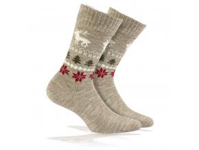Vlněné ponožky WOLA SOB