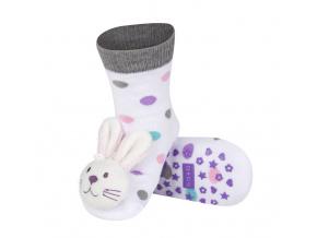 Ponožky s chrastítkem SOXO ZAJÍC