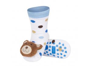 Ponožky s chrastítkem SOXO MÉĎA