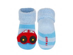 Ponožky s chrastítkem SOXO AUTO