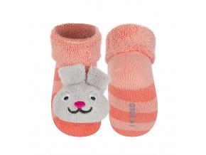 Ponožky s chrastítkem SOXO ZAJÍČEK