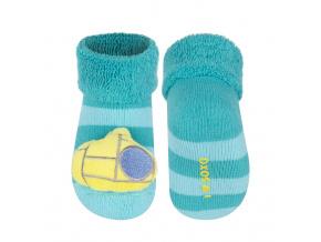 07f79a4b28f Ponožky s chrastítkem SOXO PONORKA