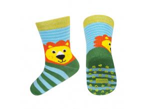 Dětské ponožky s protiskluzem SOXO LEV