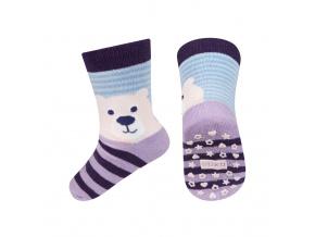 Dětské ponožky s protiskluzem SOXO MÉĎA