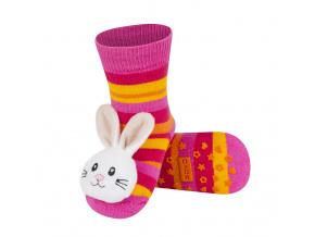 Ponožky s chrastítkem SOXO KRÁLÍČEK