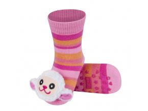 Ponožky s chrastítkem SOXO OVEČKA