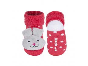 Ponožky s chrastítkem SOXO KRÁLÍK