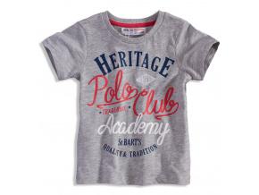 Chlapecké tričko s krátkým rukávem MINOTI POLO CLUB