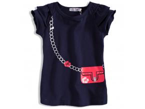 Dívčí tričko s krátkým rukávem DIRKJE KABELKA