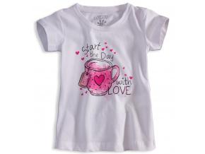 Dívčí tričko s krátkým rukávem LOSAN LOVE