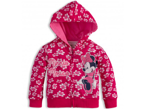 Dívčí mikina Disney MINNIE růžová