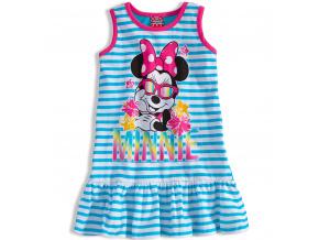 Dívčí šaty Disney MINNIE tyrkysové