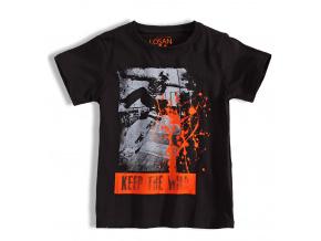 Chlapecké tričko LOSAN SKATE černé