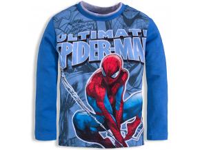 Chlapecké triko SPIDERMAN světle modré